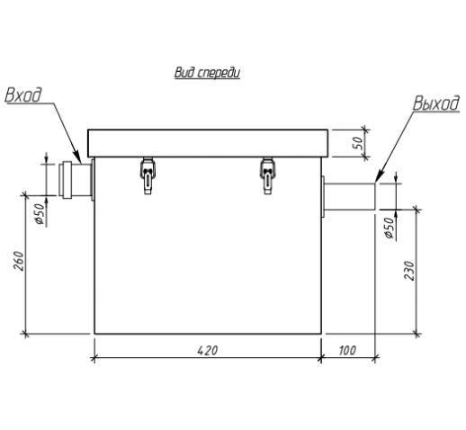 Жироуловитель под мойку Alta-M-in 0.5-25