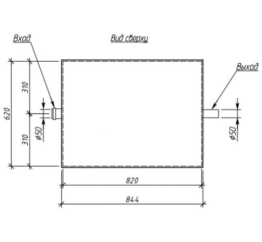 Жироуловитель под мойку Alta-M-in 1.5-175