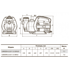 """Самовсасывающий насос GARDEN-JLUX 1,5-25/0,65 """"Насосы плюс оборудование"""""""