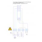 Нержавеющий двойной поплавковый датчик-выключатель PDS-03-500, до 220v, AISI 304
