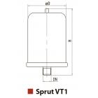 """Бак расширительный для систем отопления VT12 """"Sprut"""""""