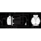 """Циркуляционный самовсасывающий насос с """"сухим"""" ротором Jet WJ 203 X """"Wilo"""""""
