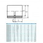 Муфта ПВХ EFFAST RDRMAD клеевая d160mm (RDRMAD1600)