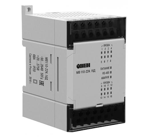 Модуль дискретного ввода МВ110-224.16Д