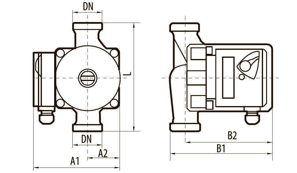 Циркуляционный насос BPS 32-6S-180