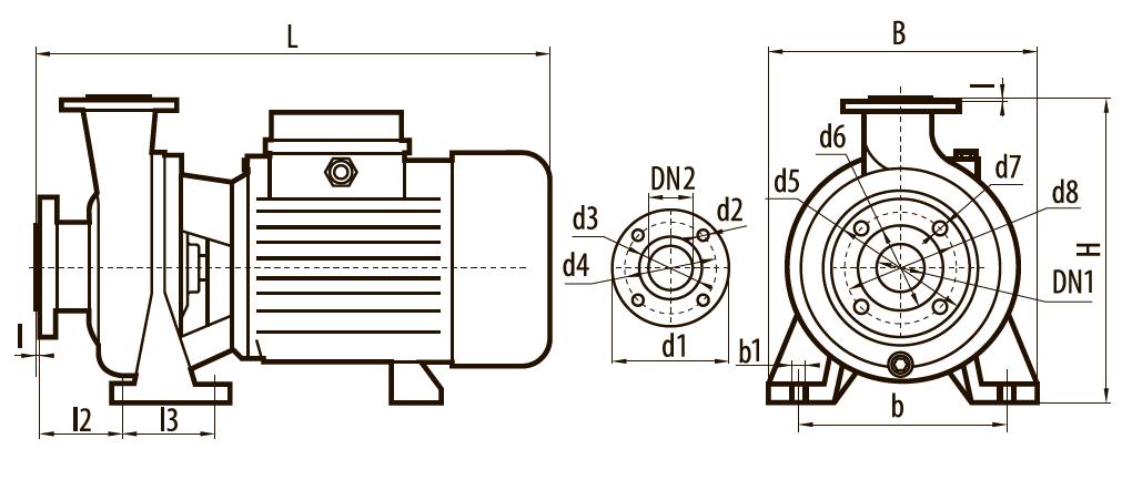 Центробежные насос CP32-5,5