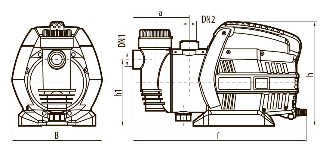 """Самовсасывающий насос GARDEN-JLUX 1,5-30/0,8 """"Насосы плюс оборудование"""""""
