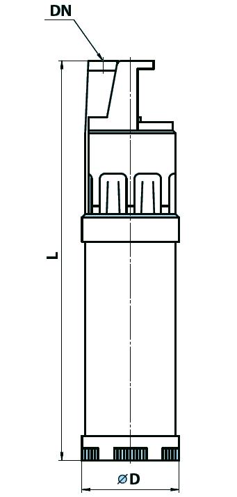 """Центробежный насос Garden 1000–4Robot """"Насосы плюс оборудование"""""""
