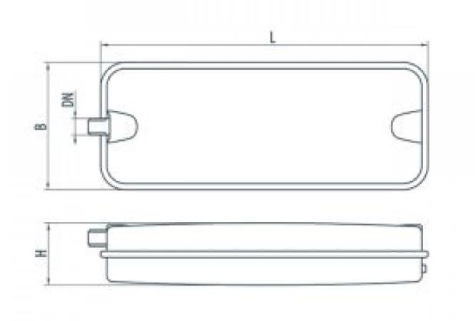 """Бак расширительный для систем отопления R/FT10 """"Sprut"""""""
