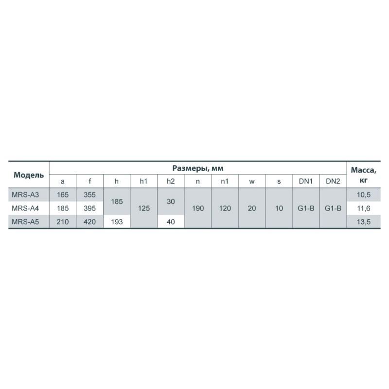 Центробежный многоступенчатый насос MRS-A3