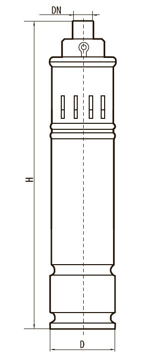 """Шнековый скважинный насос 4SQGD2,5-140-1,1 """"Sprut"""""""