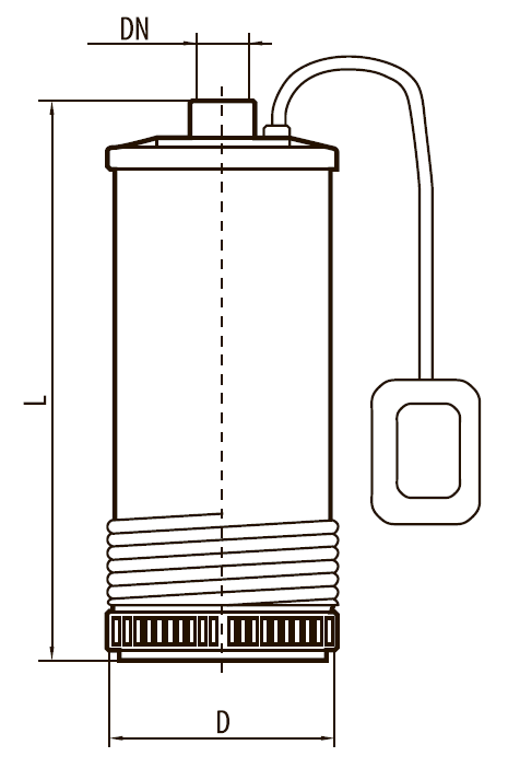 Центробежный многоступенчатый погружной насос SCM3