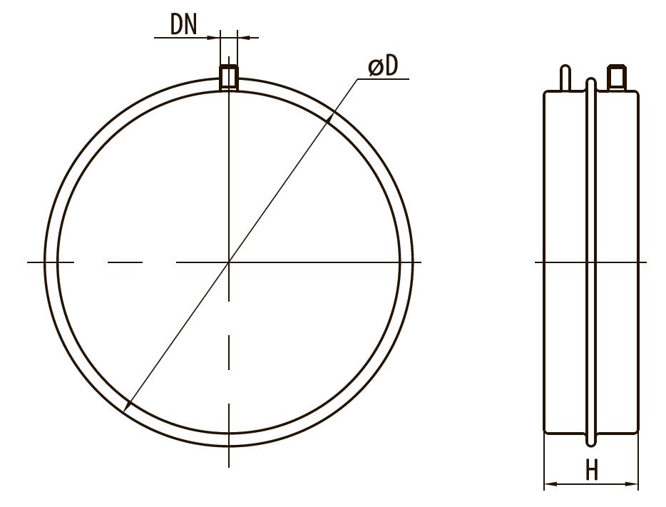"""Бак расширительный для систем отопления FT10Ø324 """"Sprut"""""""